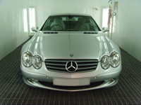 Mercedes SL55 AMG body repair
